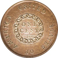 1793 Chain Large Cent