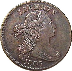Draped Bust Cent