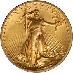 The St. Gaudens DOUBLE EAGLE