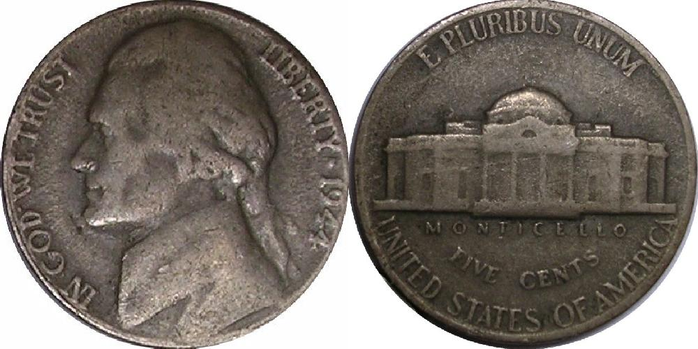 counterfeit jefferson nickel